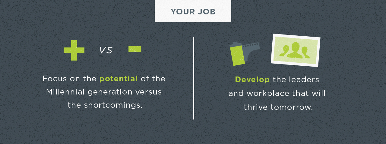 fact - potential of millennial employees