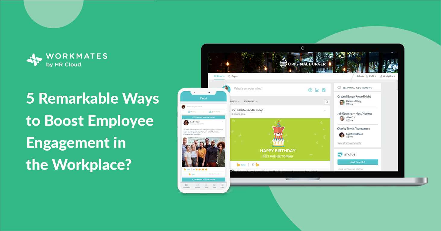 5 Remarkable Ways to boost employee engagement in the workplace?-06
