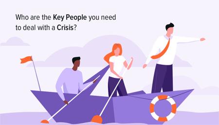 2. Identify crisis communication management teams