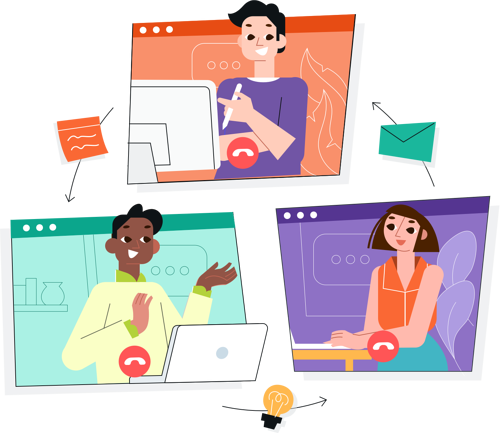 10. Holding virtual get- together through video calls: