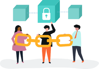Blockchain technology to improve security