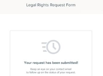 HR cloud GDPR legal rights request