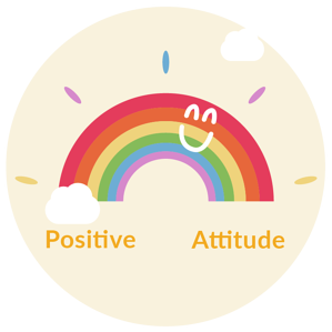 #2: Points for a positive attitude.