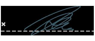 paperwork signature