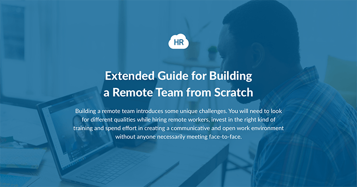Extended Guide for Building a Remote Team from Scratch