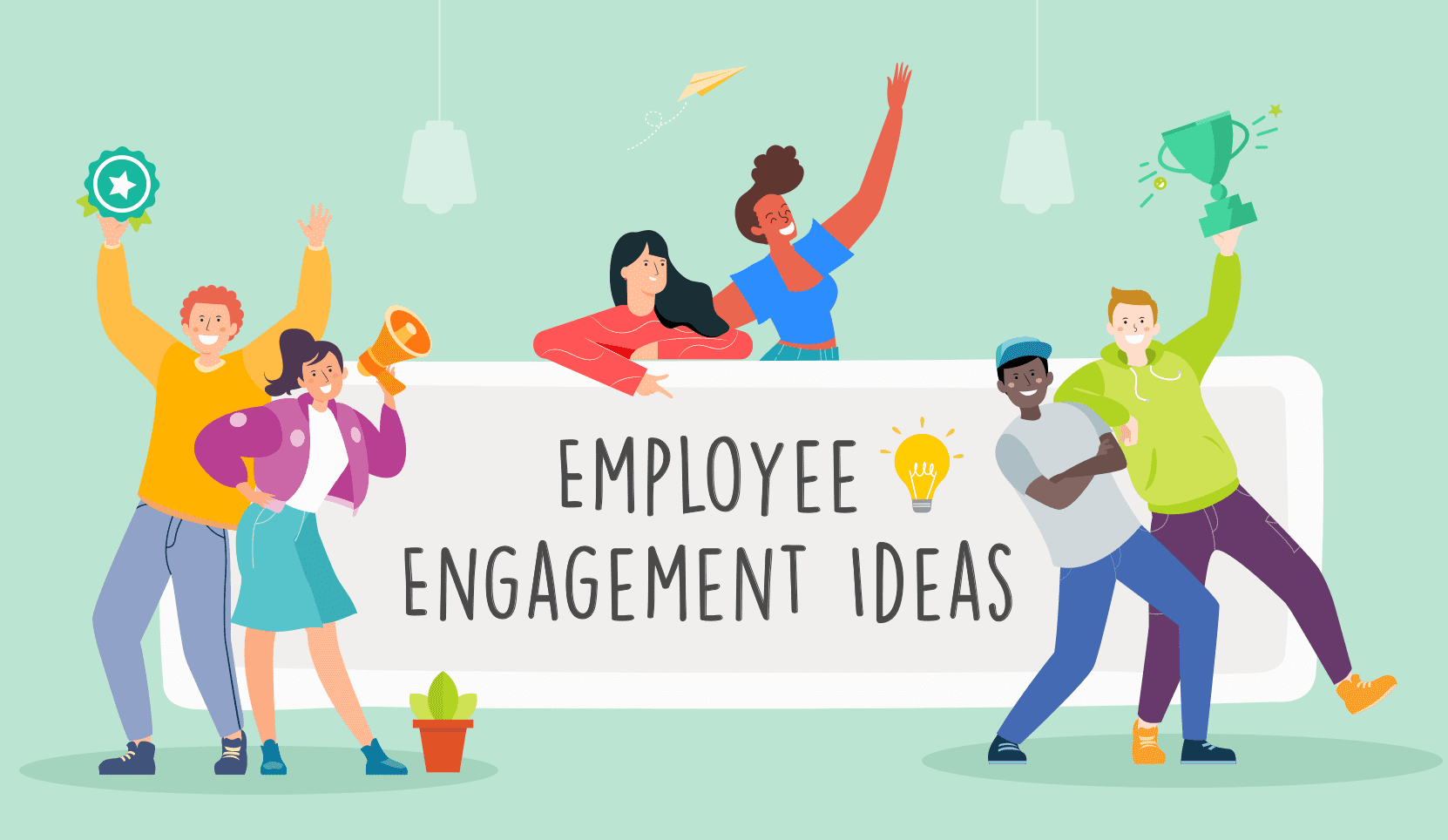 employees enthusiastic