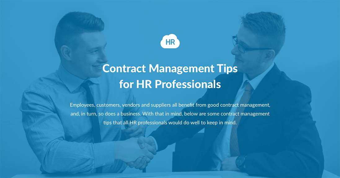 Contract Management Tips for HR Professionals
