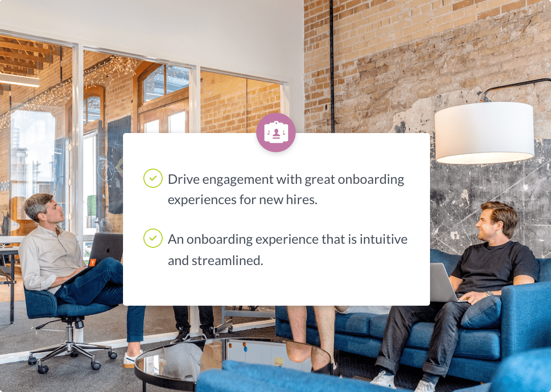 Onboard software that goes beyond traditional onboarding