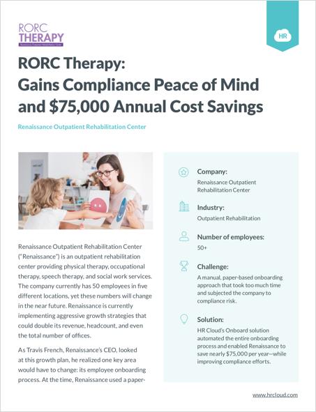 Renaissance Outpatient Rehabilitation Center