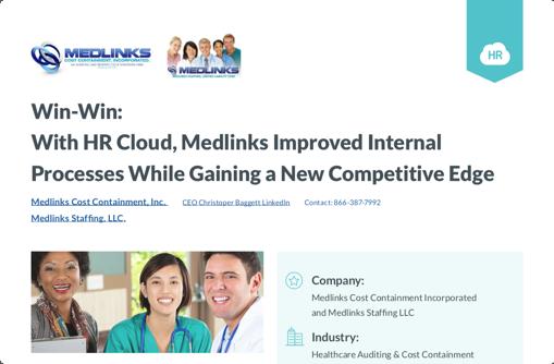 Medilinks page