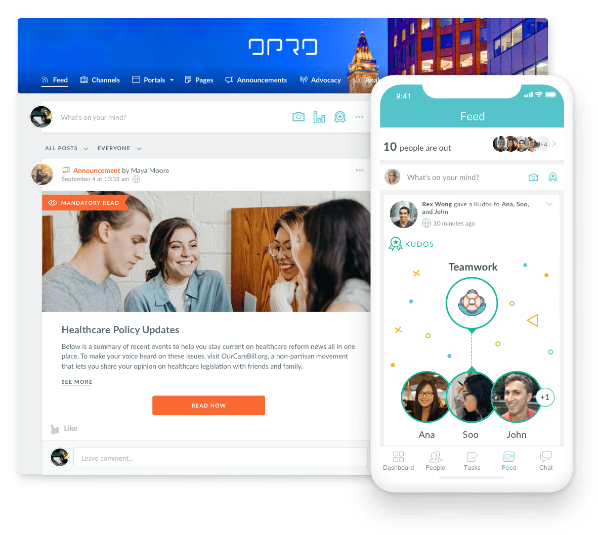 Connect with Employees