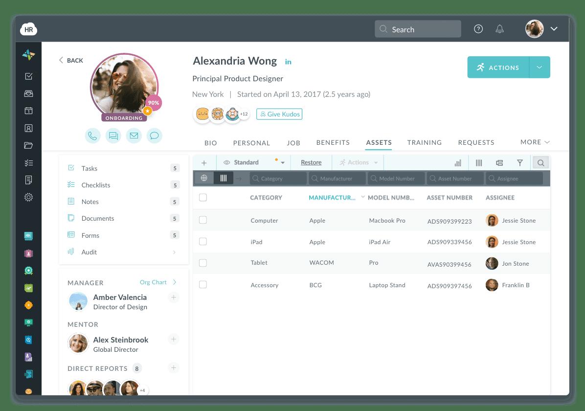 Employee Profile