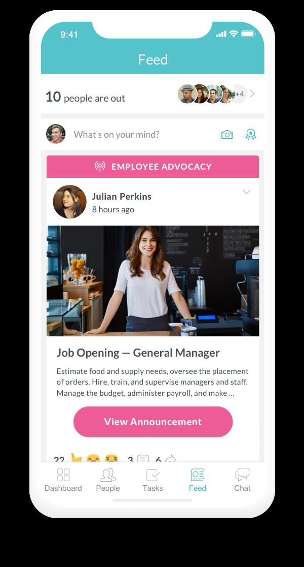 Increase Employee Advocacy