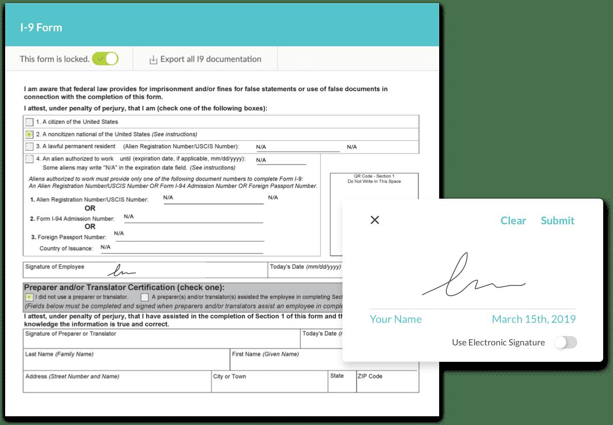 E-Signature Capabilities
