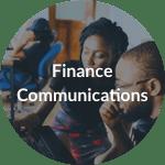 finance communications