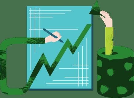 performance growth chart