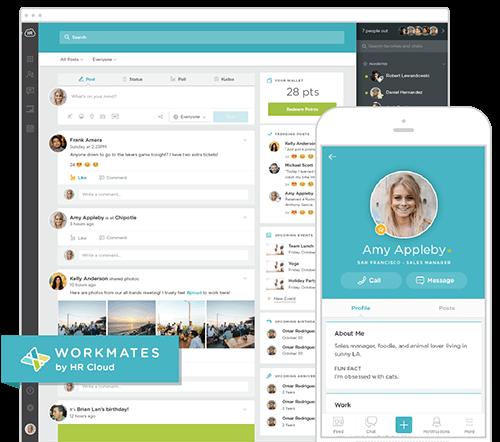 employee recognition software screenshot