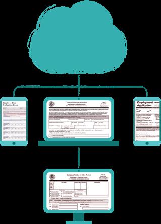 Human Resources computer diagram analysis