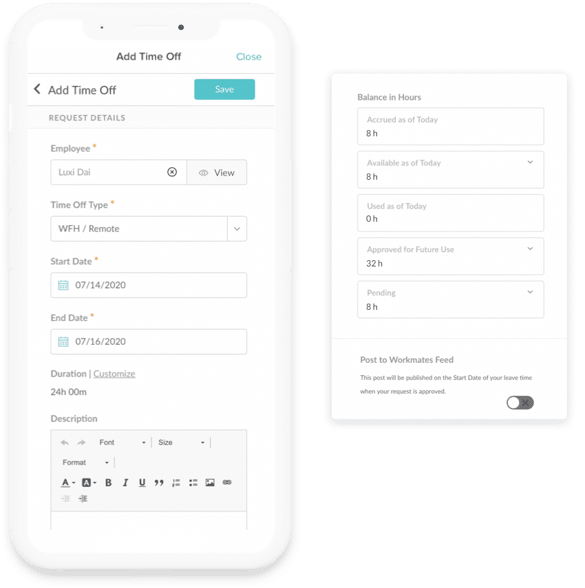 Mobile Employee Self-Service