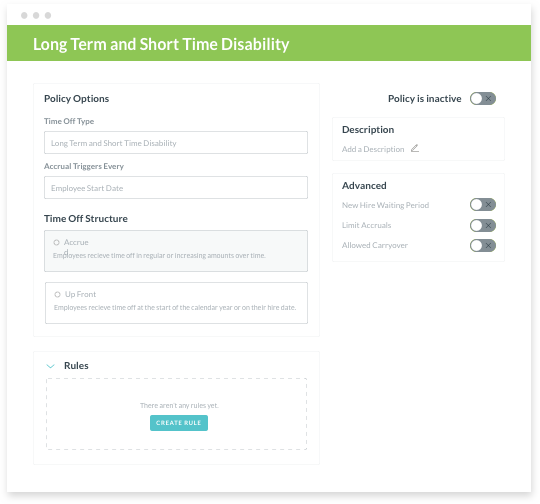 Customize Your Time-Off Policy