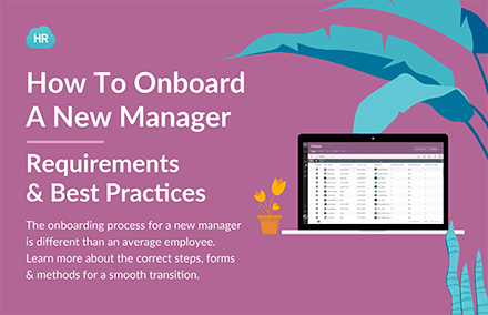 How To Onboard a New Manager