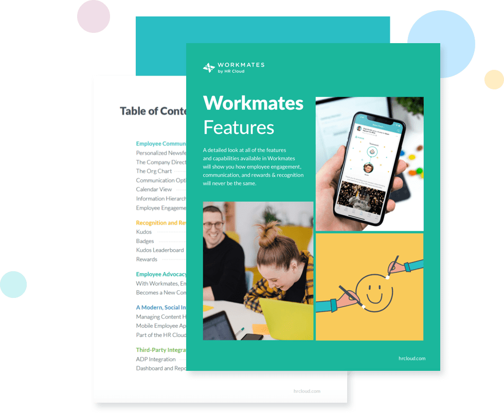 Workmates Features