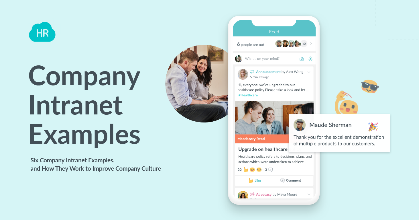 Six Company Intranet Examples, and How They Work to Improve Company Culture