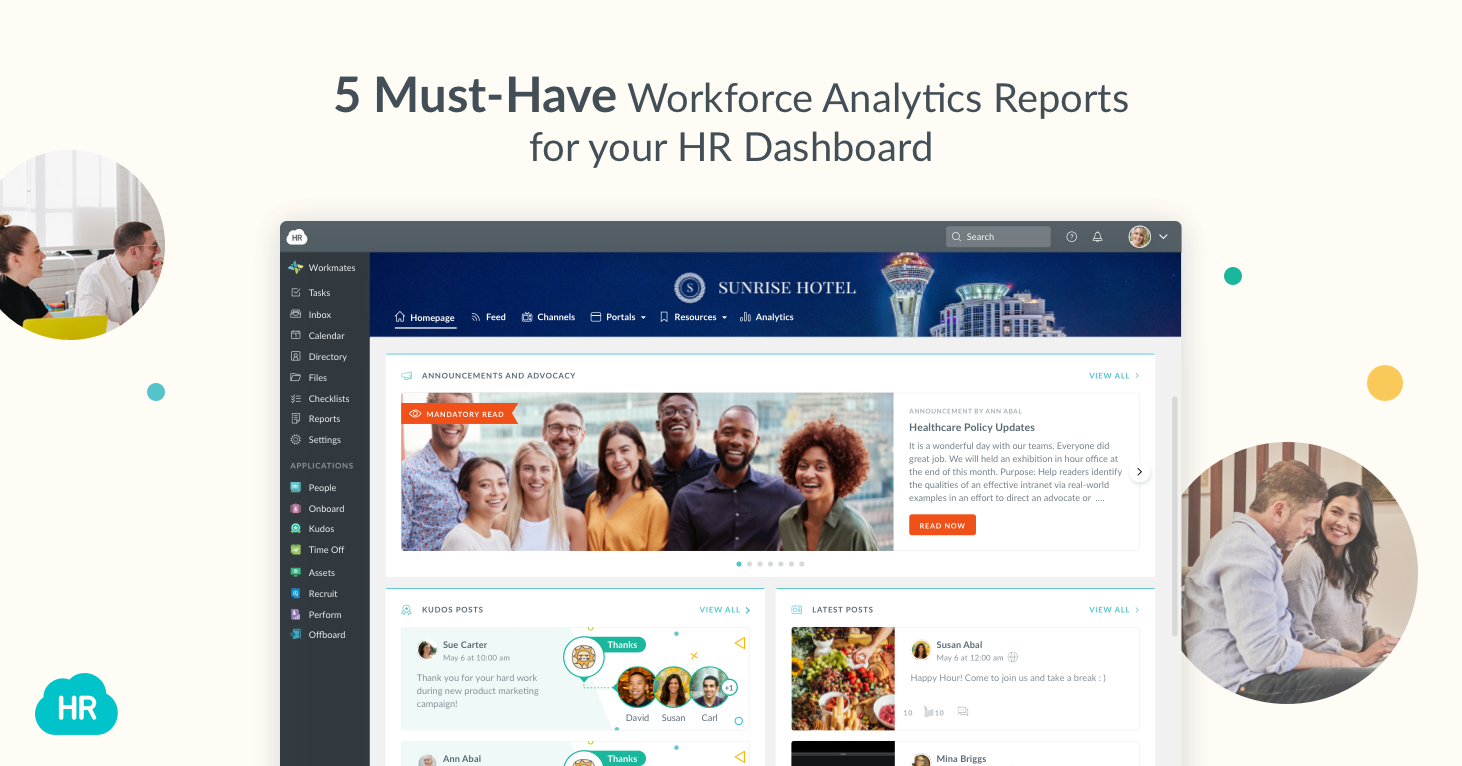 5 Must-Have Workforce Analytics Reports for your HR Dashboard