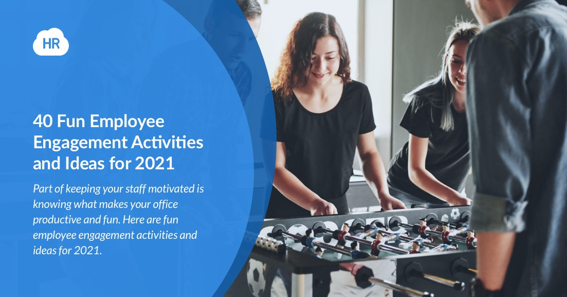 40 Fun Employee Engagement Activities and Ideas for 2021