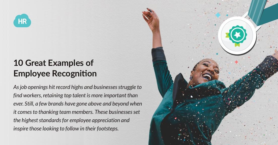 10 Great Examples of Employee Recognition