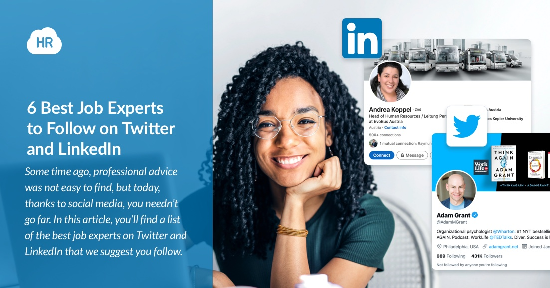 6 Best Job Experts to Follow on Twitter and LinkedIn