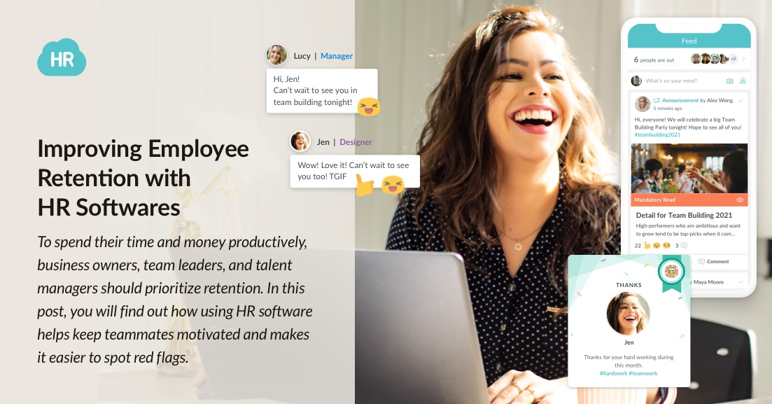 How to Improve Employee Retention with HR Software in 2021