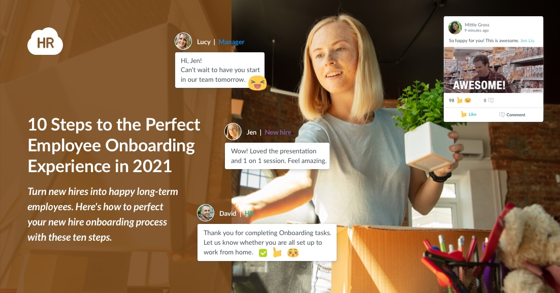 10 Steps to the Perfect Employee Onboarding Experience in 2021